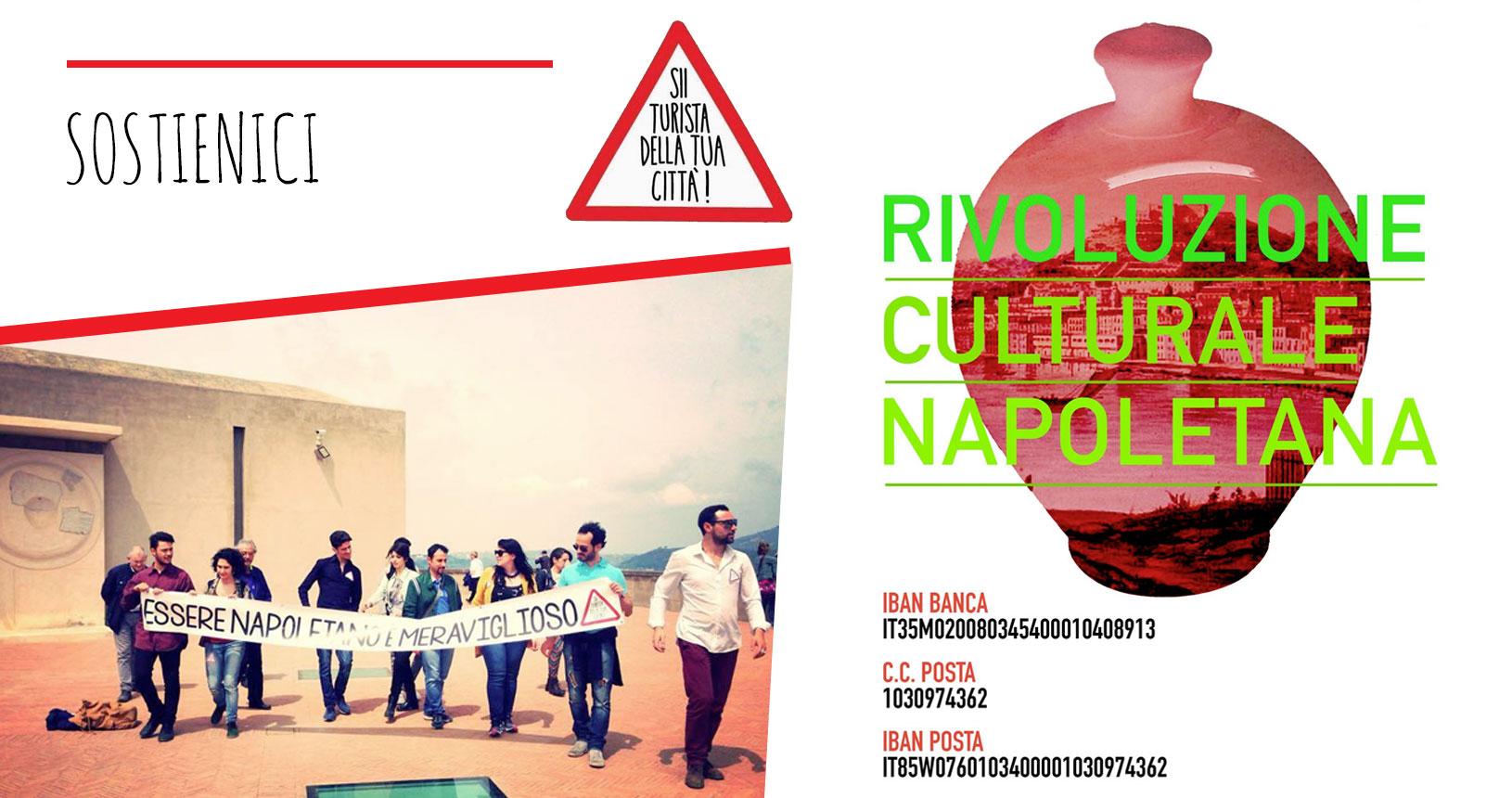 sostieni sii turista e la nostra rivoluzione culturale