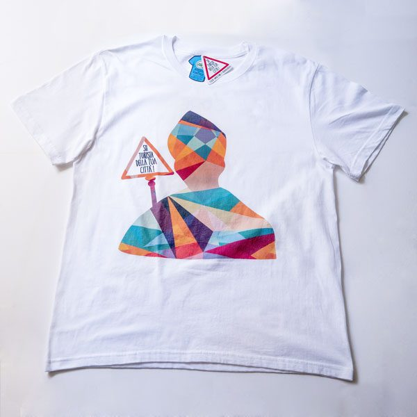 t-shirt sii turista san gennaro